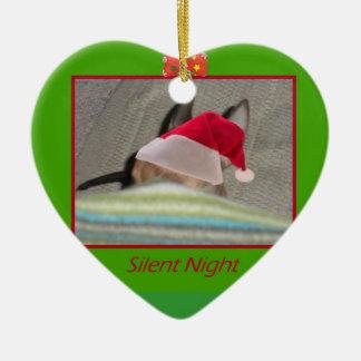 Chihuahua Silent Night Ornament