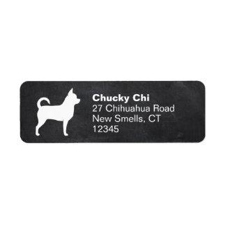 Chihuahua Silhouette Return Address Label