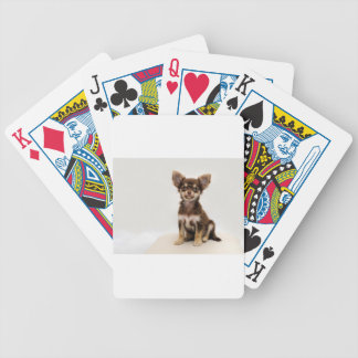Chihuahua Small Dog Bicycle Playing Cards