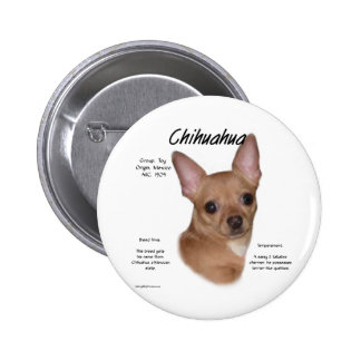 Chihuahua smooth History Design Button