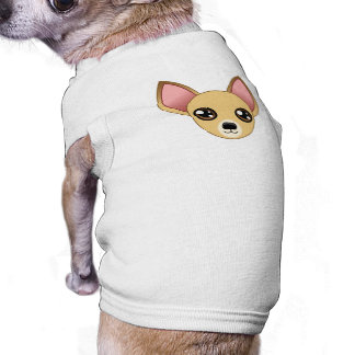 Chihuahua T-Shirt Sleeveless Dog Shirt