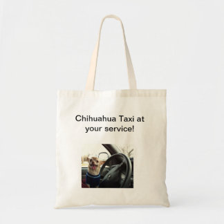 Chihuahua Taxi Service Bag