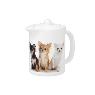 Chihuahua Teapot