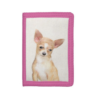 Chihuahua Trifold Wallets
