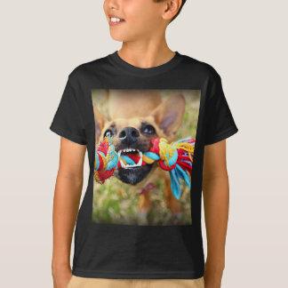 Chihuahua Tug O War T-Shirt