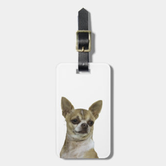 Chihuahua with Attitude Luggage Tag