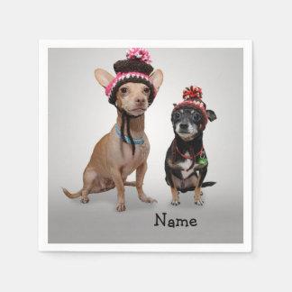 Chihuahua's Disposable Napkins
