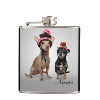 Chihuahua's Flasks