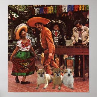 Chihuahuas Poster 3 Amigos