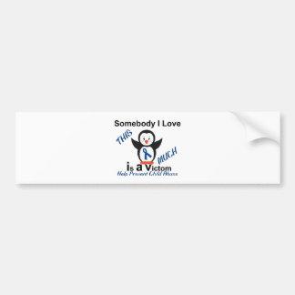 Child Abuse Prevention Someone I Love Bumper Sticker