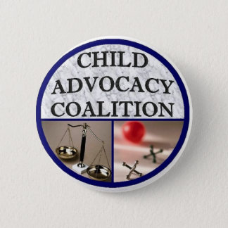 Child Advocacy Coalition 6 Cm Round Badge