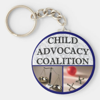 Child Advocacy Coalition Key Ring