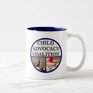 Child Advocacy Coalition Two-Tone Coffee Mug