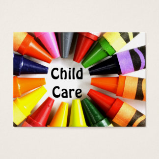 Child Care  Business card