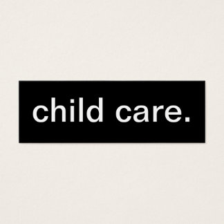 Child Care Card