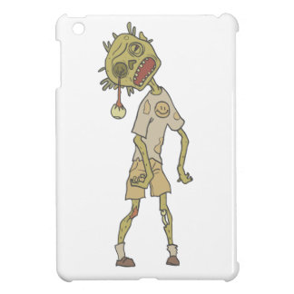 Child Creepy Zombie With Rotting Flesh Outlined Case For The iPad Mini