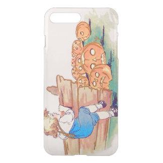 Child Jack O' Lantern Pumpkin Patch iPhone 7 Plus Case