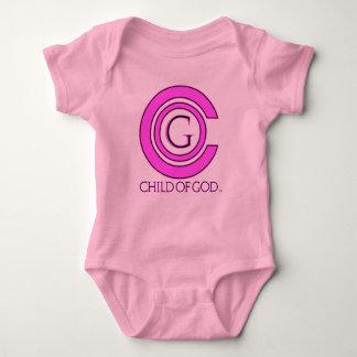 Child of GOD baby pink Baby Bodysuit