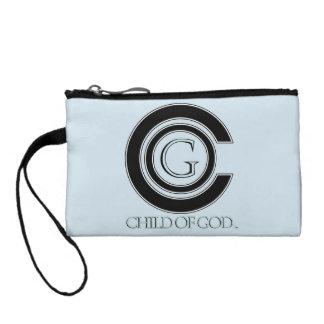 Child of GOD Key Coin Clutch