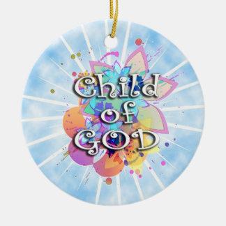 Child of God, Pastel Ornament