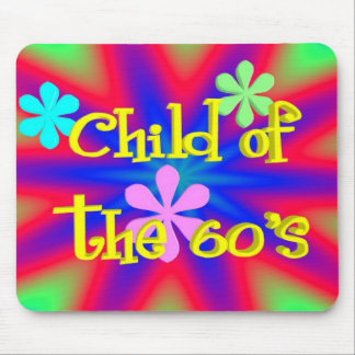 Child of the 60s Mousepad
