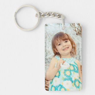 Child Photo Keepsake Key Ring