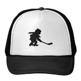 Child Playing Roller Hockey Hat