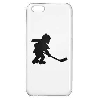 Child Playing Roller Hockey iPhone 5C Cases