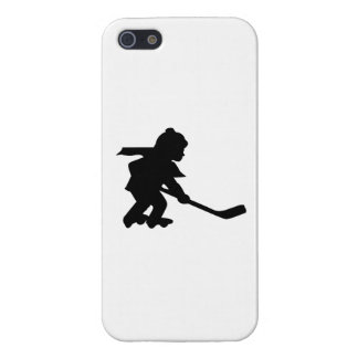 Child Playing Roller Hockey iPhone 5 Cover