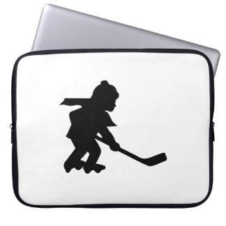 Child Playing Roller Hockey Laptop Sleeves