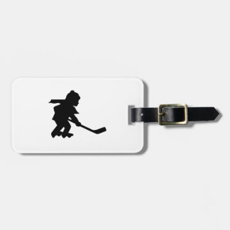 Child Playing Roller Hockey Tag For Bags