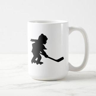 Child Playing Roller Hockey Mug