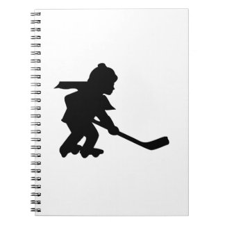 Child Playing Roller Hockey Journals