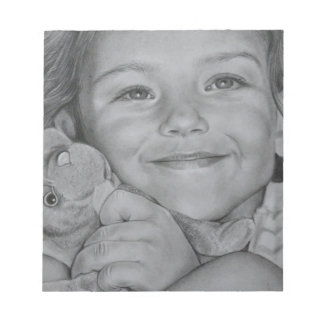 Child portrait notepads