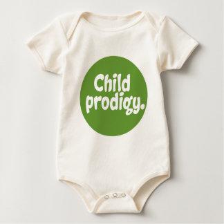 Child Prodigy Baby Bodysuit