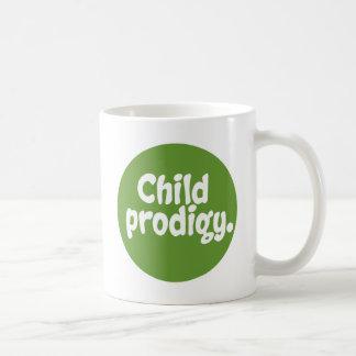 Child Prodigy Basic White Mug