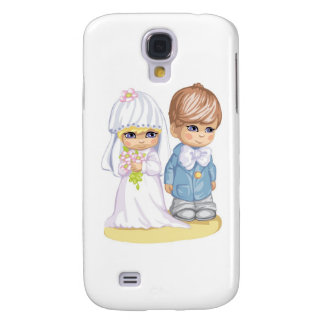 Child Wedding Dress Up Second Design Galaxy S4 Covers