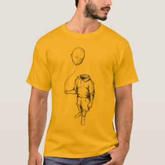 Child with a balloon Men T-shirt