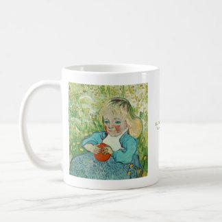 Child with an Orange by Vincent van Gogh Basic White Mug