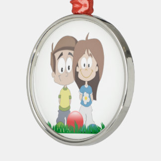 Childcare - Summer Camp - School Business Theme Metal Ornament