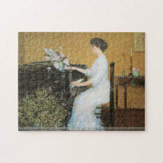 Childe Hassam - At the piano puzzle