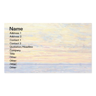 Childe Hassam - Evening Business Card Templates