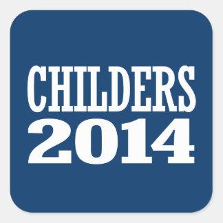 CHILDERS 2014 SQUARE STICKER