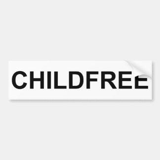Childfree Bumper Sticker