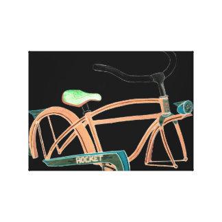 Childhood bike canvas print