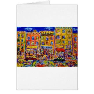 Childhood Bronx  2 by Piliero Card