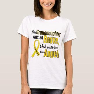 Childhood Cancer ANGEL 1 Granddaughter T-Shirt