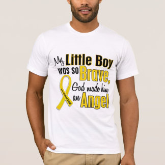 Childhood Cancer ANGEL 1 Little Boy T-Shirt