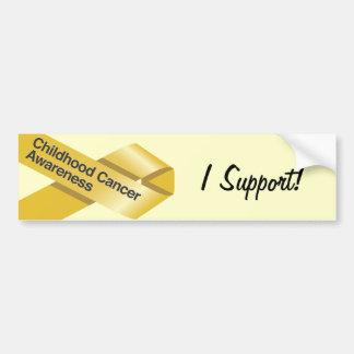 Childhood Cancer Awareness Bumper Sticker