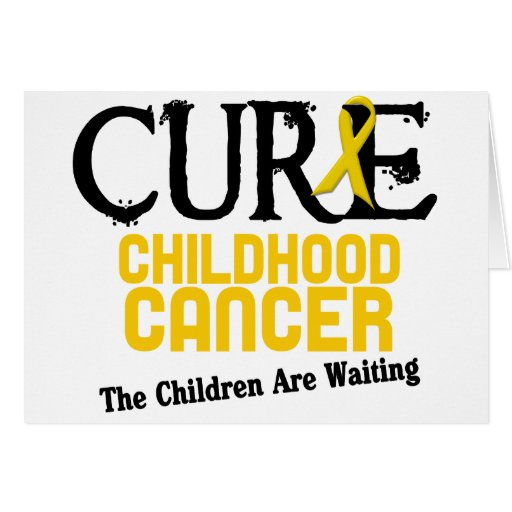 Childhood Cancer Awareness CURE Card